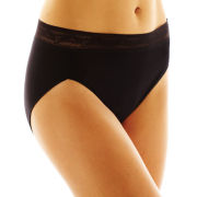 Vanity Fair® Lace-Trim Modal® High-Cut Panties - 13251