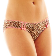 Flirtitude® Mesh Bikini Panties
