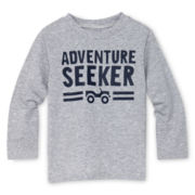 Okie Dokie® Long-Sleeve Attitude Tee - Boys 12m-6y