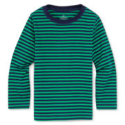 Okie Dokie® Long-Sleeve Striped Tee - Boys 12m-6y