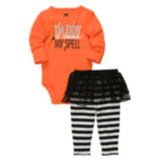 Carter's® 2-pc. Halloween Bodysuit Set - Girls newborn-24m