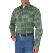 Wrangler® Wrinkle-Resistant Woven Shirt