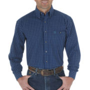 Wrangler® George Strait 1-Pocket Woven Shirt