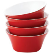 Rachael Ray® Round & Square Set of 4 Cereal Bowls