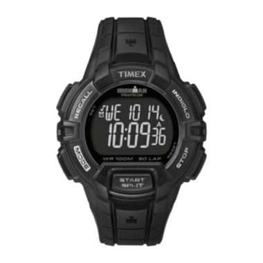jcpenney.com | Timex® Ironman Rugged Mens 30-Lap Black Dial Watch