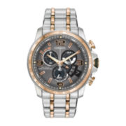 Citizen® Eco-Drive® Chrono-Time A-T Mens Two-Tone Watch BY0106-55H