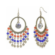Mixit™ Gold-Tone Dream Catcher Chandelier Earrings