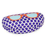 Purple Dot Glasses Case