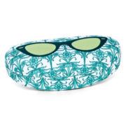 Green Cat-Eye Glasses Case