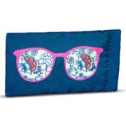 Floral Soft Glasses Case