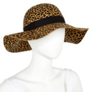 Mixit™ Animal-Print Floppy Hat