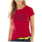 jcp™ Short-Sleeve Graphic Tee