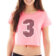 City Streets® Graphic Crop Top