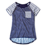 Arizona Stud-Embellished Short-Sleeve Tee - Girls 6-16 Plus