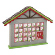 Peppermint Twist Gingerbread Advent Calendar