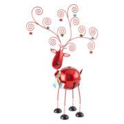 Peppermint Twist Reindeer Card Holder