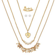 Decree® 5-pc. Earring, Necklace and Ring Set