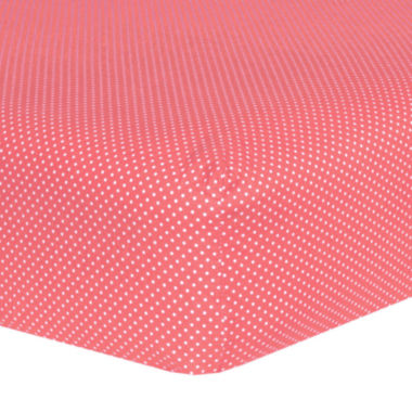 jcpenney.com | Trend Lab® Cocoa Dot Crib Sheet