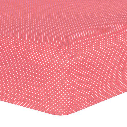 Trend Lab® Cocoa Dot Crib Sheet