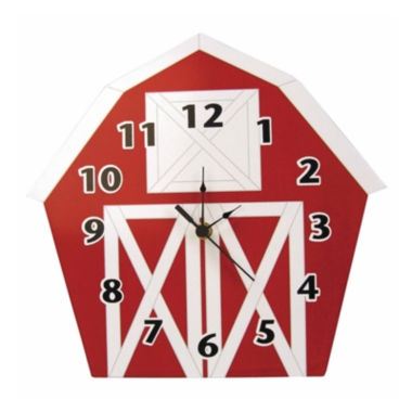 jcpenney.com | Trend Lab® Baby Barnyard Barn Wall Clock