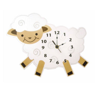 jcpenney.com | Trend Lab® Baby Barnyard Lamb Wall Clock