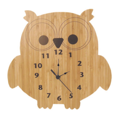 jcpenney.com | Trend Lab® Owl Wall Clock