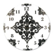 Trend Lab® Versailles Black and White Wall Clock
