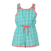 Pinky Button Romper - Toddler Girls 2t-4t