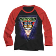 Avengers Faces Raglan Tee - Boys 8-20