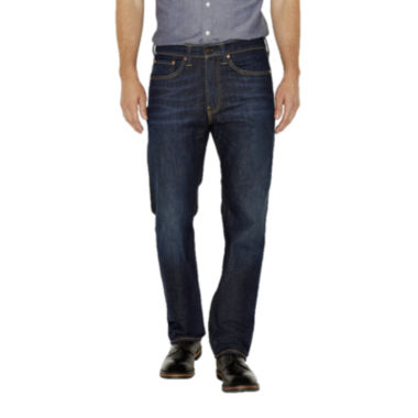jcpenney.com | Levi's® 505™ Regular Fit Stretch Strong Jeans