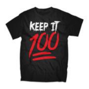 Keep It 100 Short-Sleeve Graphic Tee