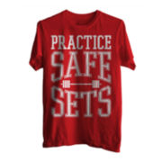 Practice Safe Sets Short-Sleeve Graphic Tee