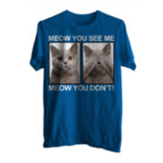 Meow You Don't Short-Sleeve Graphic Tee