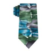 Jerry Garcia® Green Landscape Silk Tie