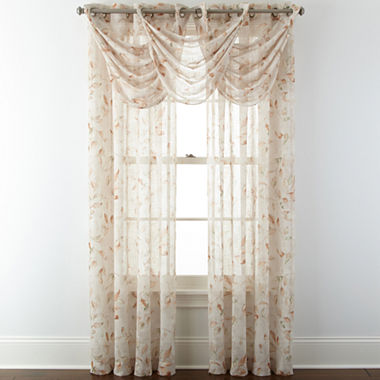 Window Treatment jcpenney valances window treatments : JCPenney Home™ Arbor Leaf Window Treatments - JCPenney