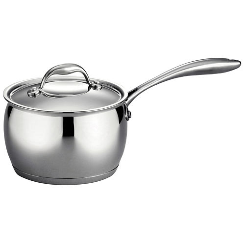 Tramontina Gourmet Domus 18/10 Stainless Steel Induction-Ready Saucepan with Lid