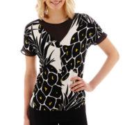 Worthington® Printed Tunic Top