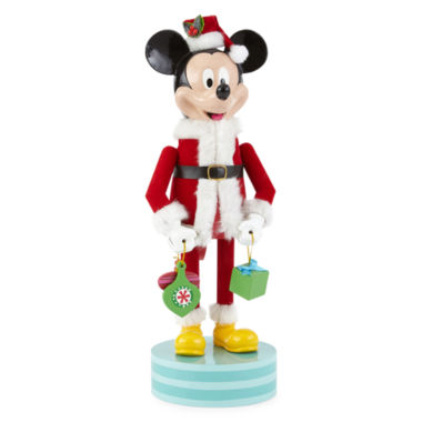 "jcpenney.com | North Pole Trading Co. 14"" Mickey Nutcracker"