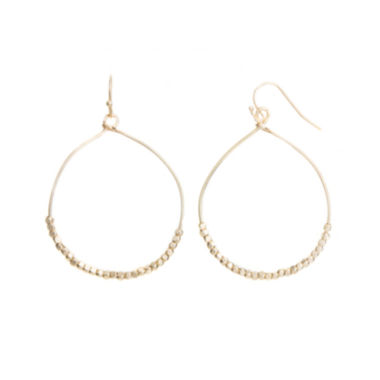 jcpenney.com | a.n.a® Gold-Tone Hoop Earrings