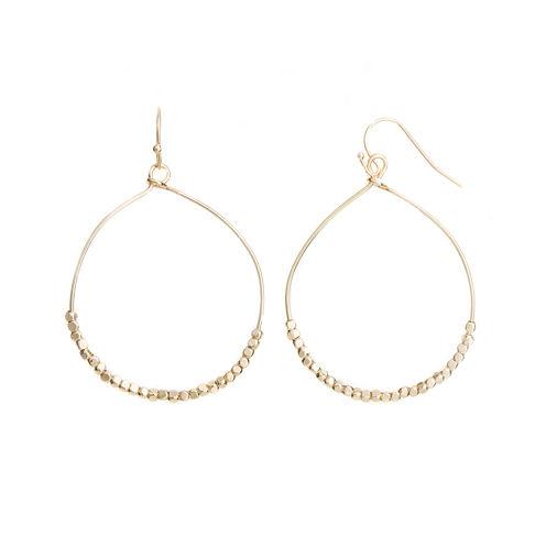 a.n.a® Gold-Tone Hoop Earrings
