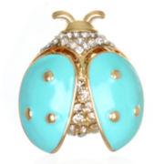 Mixit™ Gold-Tone Ladybug Pin