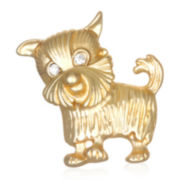 Mixit™ Gold-Tone Dog Pin