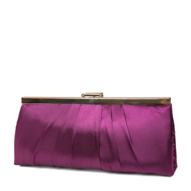 jcpenney.com | Gunne Sax® Pleats to Meet you Satin Clutch