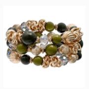 Mixit™ Beaded Coil Bracelet