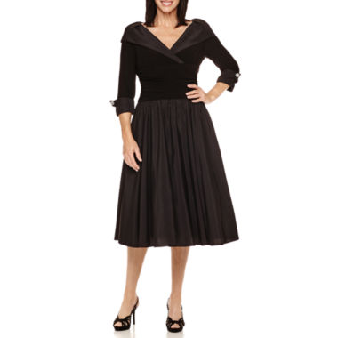 jcpenney.com | Jessica Howard 3/4-Sleeve Formal Party Dress