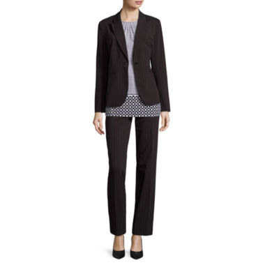 jcpenney.com | Liz Claiborne® Blazer or Pleated Neck Print Knit Top or Audra Pants
