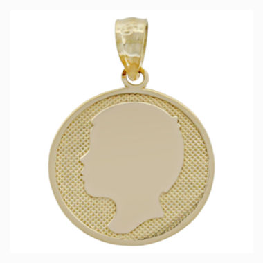 jcpenney.com | 14K Yellow Gold Boy Silhouette Charm Pendant