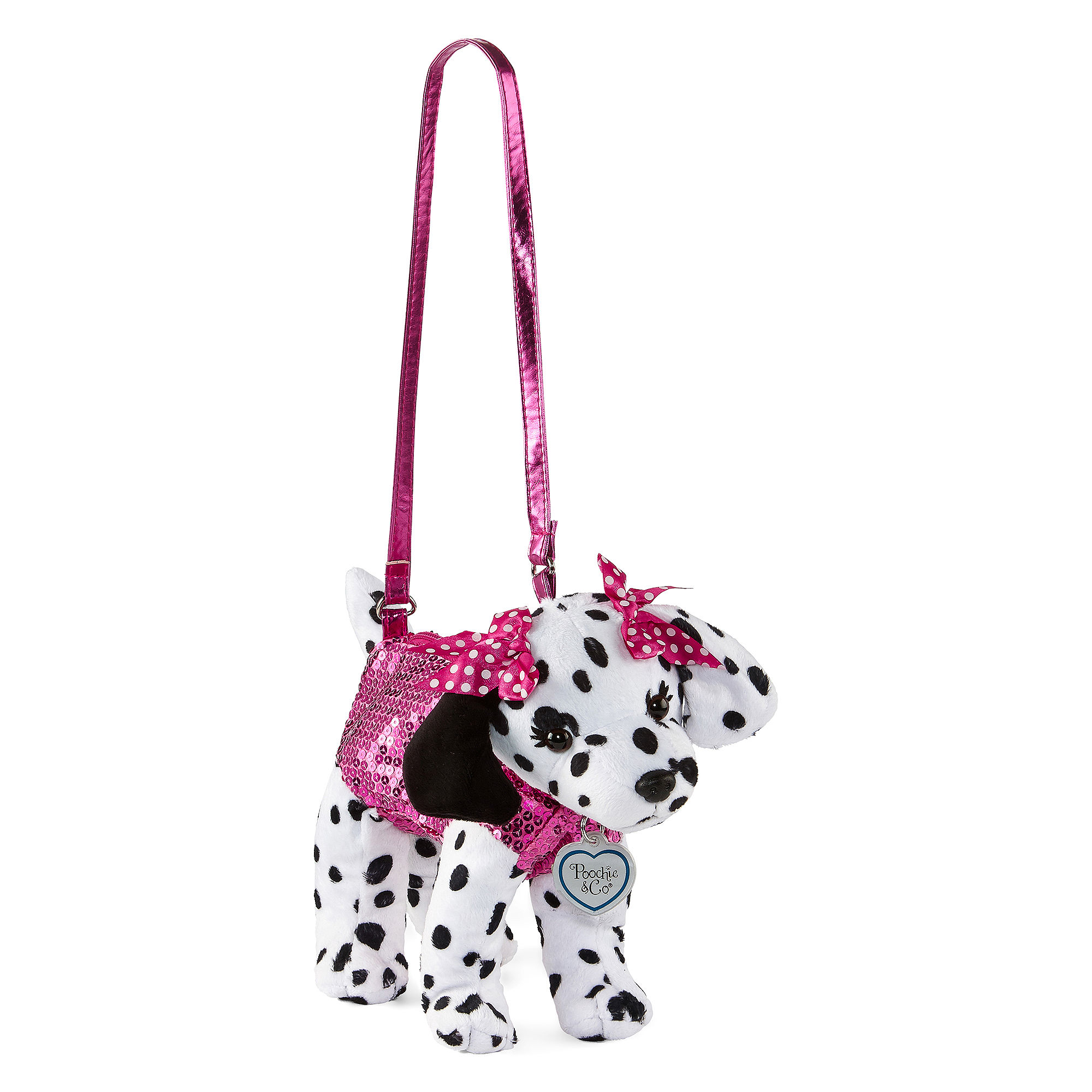 Upc 632878190943 Product Image For Poochie Co Dalmatian Sequins Purse S Upcitemdb