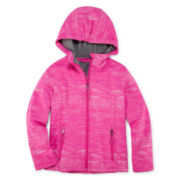 Vertical 9 Soft Foil Space Dye Softshell Jacket - Girls 7-16