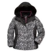 Zeroxposur® Carmela Faux-Vestee Jacket - Girls 7-16